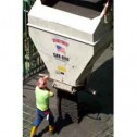 6 Yard Laydown Concrete Bucket 4186-L by Gar-Bro