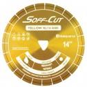 """Husqvarna 13.5"""" 5000 Yellow Series Soff-Cut Saw Blade-542756116"""