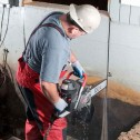 ICS 680ES-12 GC Gas Concrete Saw w/12 in Guidebar & TwinMax Chain