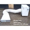 LB White 26347 WHITE 12ft Air Duct