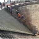 Lura Grain Bin PACKAGE Gas 40ft Concrete Roller Screed