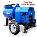 16 cu/ft Gas Hydraulic RAM Mortar Mixer 13HP 1620MP by Cleform Gilson