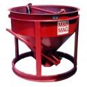 5 Yard Steel Concrete Bucket SBB-50-FB by M&B Mag