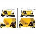 "Miller MC900 6"" 20HP Solid Auger Industrial Concrete Curbing Machine"