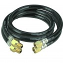 "RGC 1/2"" x 12"" Pair Hose Whips(for Pole Tampers)"