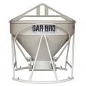 2 Yard Steel Concrete Bucket 454-R by Gar-Bro