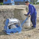 "CR 5 HO 22"" X 33"" Reversible Soil Compactor by Weber MT"